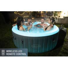 DMUCHANE SPA JACUZZI BALI LED 180x66 cm 4 os. - BESTWAY 60009