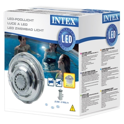 HYDROELEKTRYCZNA LAMPA LED DO BASENU na 38 mm - INTEX 28692
