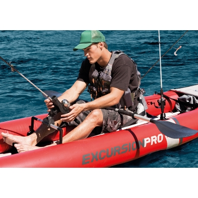 KAJAK EXCURSION PRO K2 + POMPKA i WIOSŁA - INTEX 68309