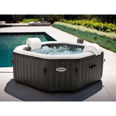 FULL ZESTAW DMUCHANE SPA JACUZZI 201x71 cm 4 os. INTEX 28458