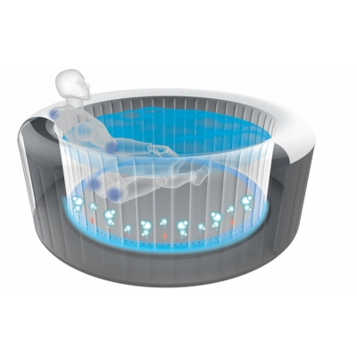 DMUCHANE PURE SPA JACUZZI 196x71 cm - INTEX 28404